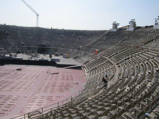 Arena di Verona: Arena inside