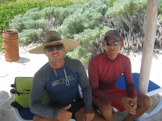 Sol Cayo Santa Maria: Andy and Jorge