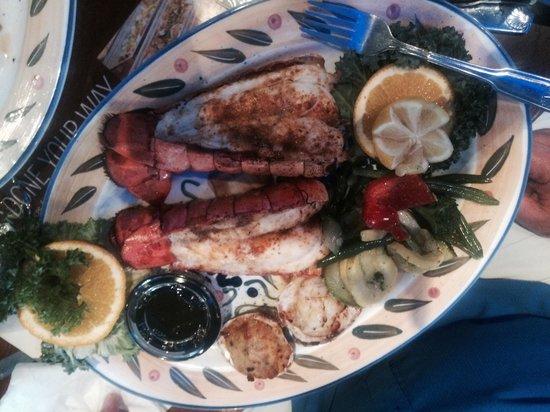 Marietta Fish Market: Twin tails :)