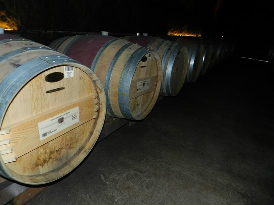 Del Dotto Vineyards & Winery : Caves