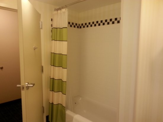Fairfield Inn & Suites Lewisburg: Shower