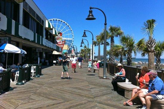 Myrtle Beach Boardwalk & Promenade: Boardwalk