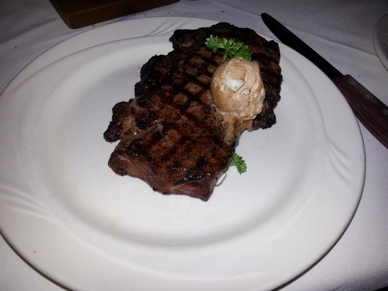 C C 's City Broiler : Dry-Aged Rib Steak