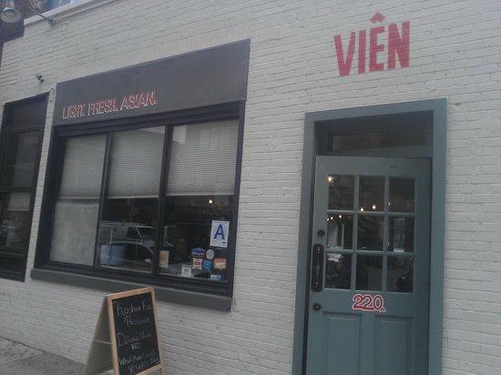 Photo of Restaurant Vien at 220 Varick St, New York City, NY 10014, United States