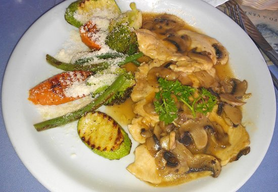 Ristorante Franchino: Delicious chicken marsala