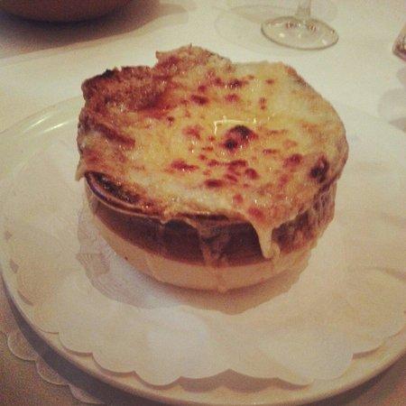 Bistro Bis : Onion soup
