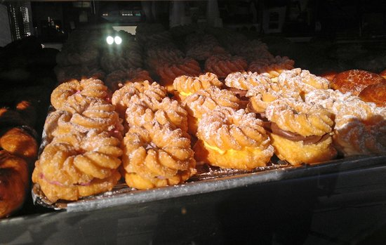 Donut Man: French crullers on display