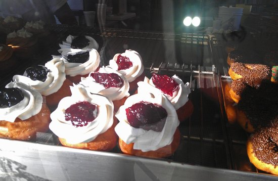 Donut Man: Jelly and whipped toppings