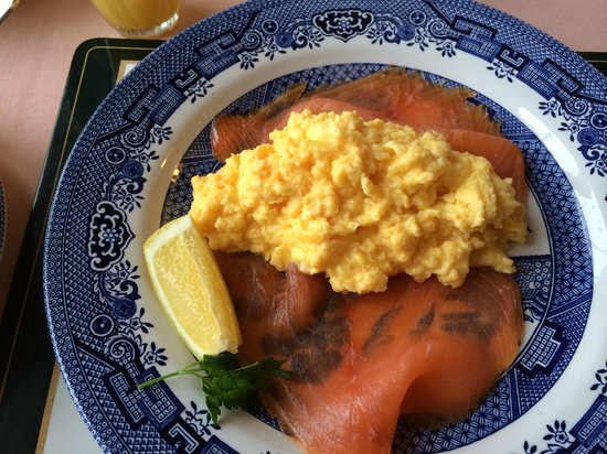 Seafield House : Fresh Salmon