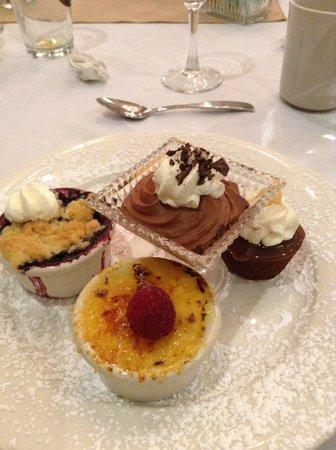 Senator Inn & Spa : Banquet Dessert