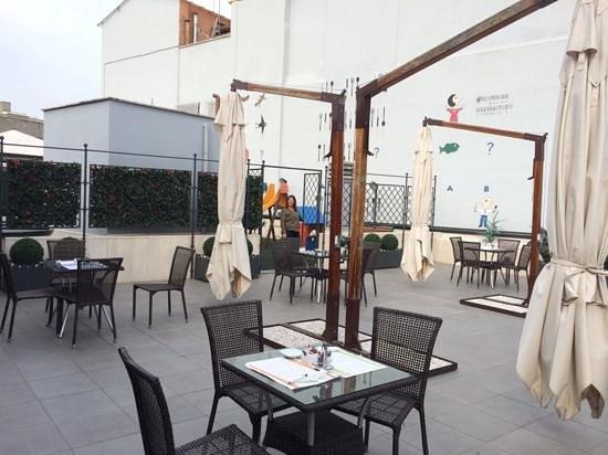 iQ Hotel Roma: terraza del IQ Hotel