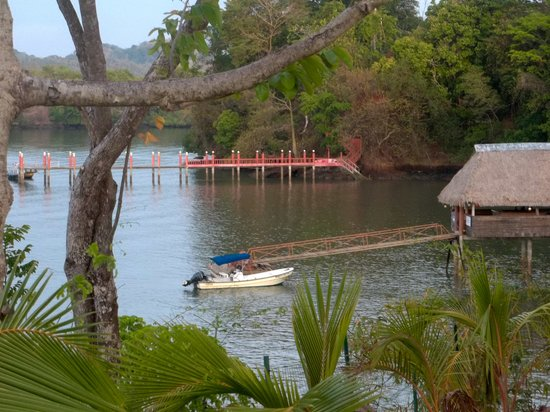 Hotel Bocas del Mar: Beautiful views of the water from each room.