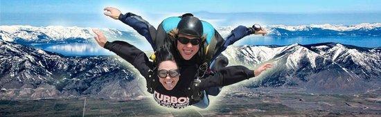 Skydive Lake Tahoe: Skydiving over Tahoe