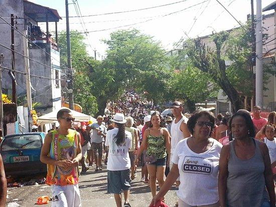 Carnaval en Salvador de Bahia : Carnaval Mudança do Garcia