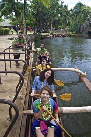 Polynesian Cultural Center: Family fun