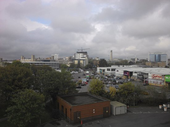 Novotel Southampton: View from the hotel window