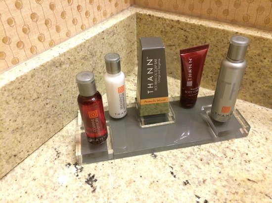 Boston Marriott Copley Place: nice smelling shampoo