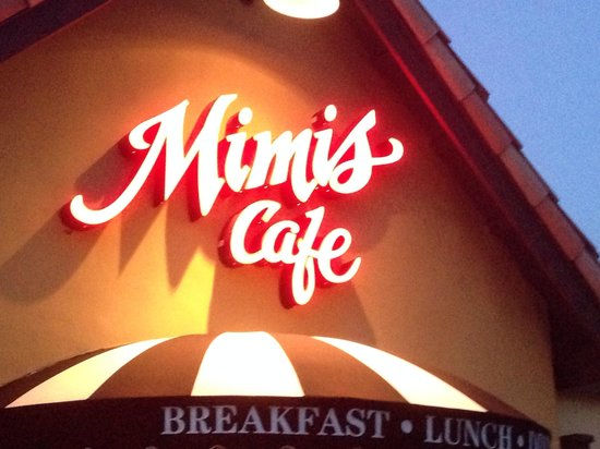 Mimi's Cafe Disneyland : Loved this place