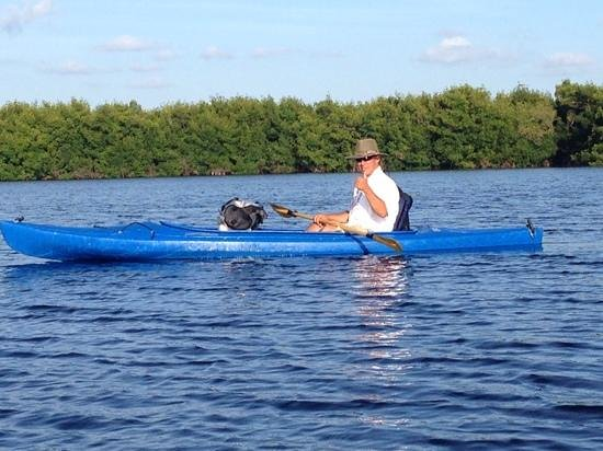 Tour The Glades - Private Wildlife Tours: Tod, our guide, out on the water