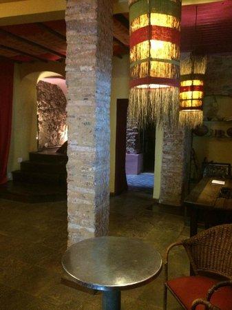 Bahiacafé Hotel: Área interna