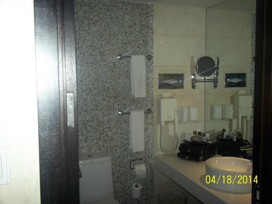 China National Convention Center Grand Hotel : Bathroom