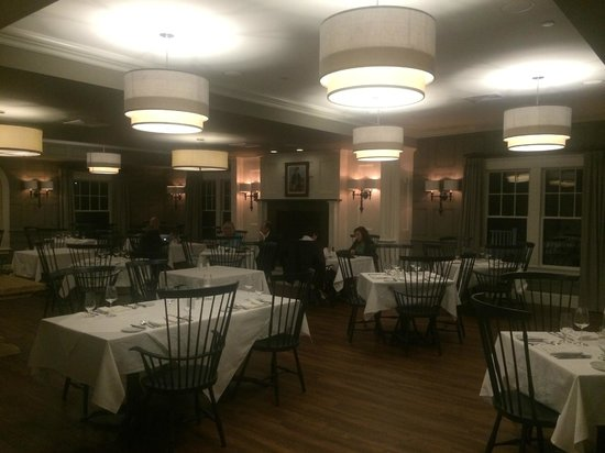 The Inn at Hastings Park: The dinner hall