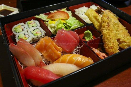 Ogawa Japanese Restaurant : Sushi Sashimi Bento