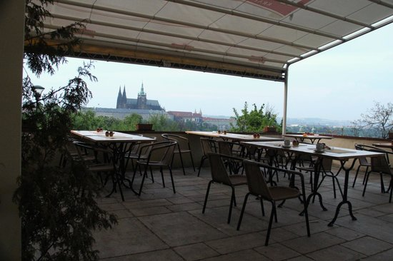 Petrinsky Terasy: A view from the terrace