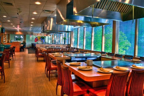 The Woodlands Inn: Shogun Hibachi Steakhouse On Site