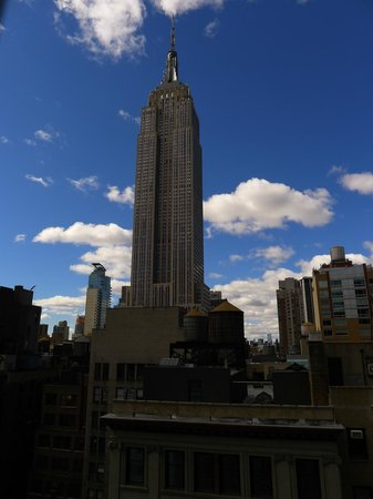 Marriott Vacation Club Pulse, New York City: View from the hotel, room 1807