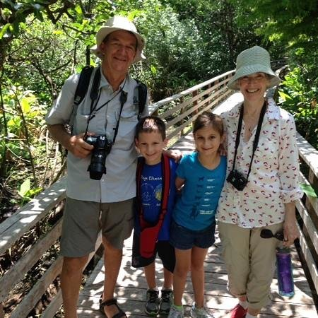 Corkscrew Swamp Sanctuary : Everyone had a great time along the Boardwalk. Have your cameras ready!