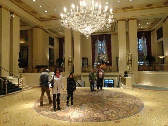 Waldorf Astoria New York: El Lobby del Wldorf Astoria, New York