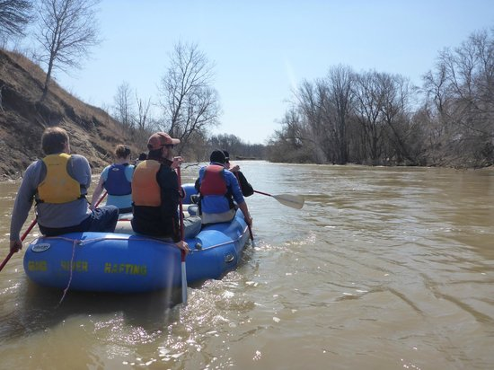 Grand River Rafting Company: Nith River - spring run