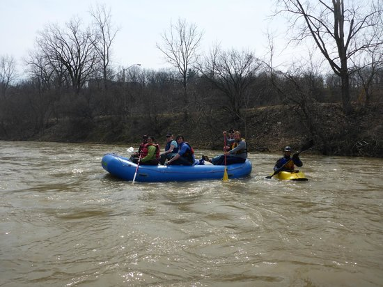 Grand River Rafting Company : Nith River - spring run