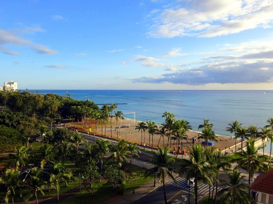 Park Shore Waikiki: View from lanai