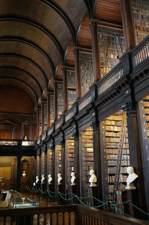 The Book of Kells and the Old Library Exhibition: More of the large Library