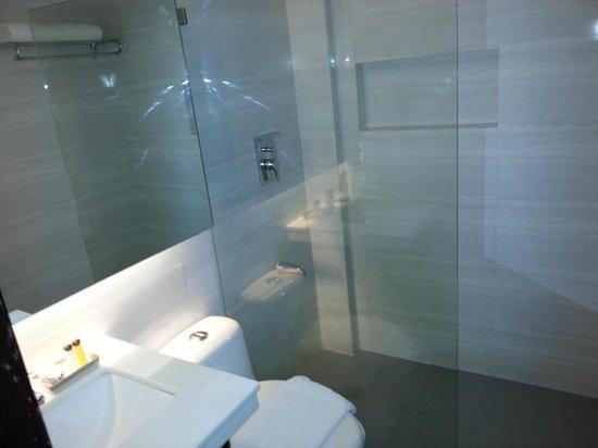 The Sugarland Hotel: Bathroom