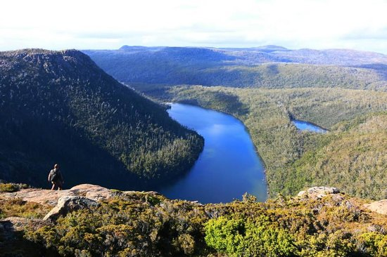 Tarn Shelf: View from the top