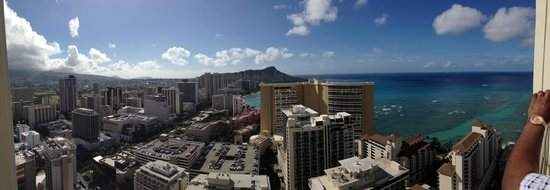 Trump International Hotel Waikiki: View from the master bedroom deck