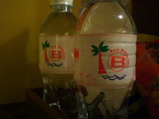 Best Beach Villa: free drinking water