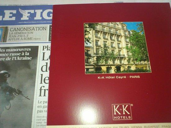 K+K Hôtel Cayré : K+K Hotel Cayré