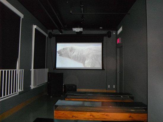 Robert Bateman Centre: R. Bateman movie screen
