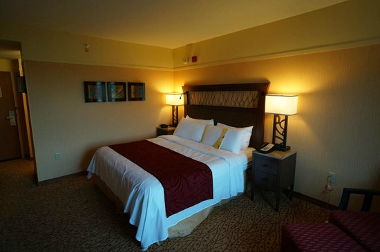 MeadowView Conference Resort & Convention Center : Bed