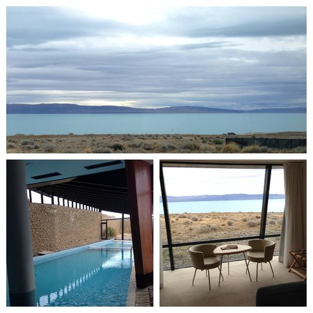 Design Suites Calafate: View from the Dining Area, Picture of the pool and The room