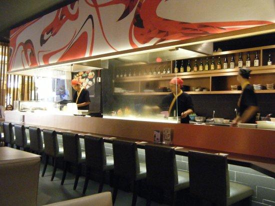 Tokyo Teppan: Inside restaurant