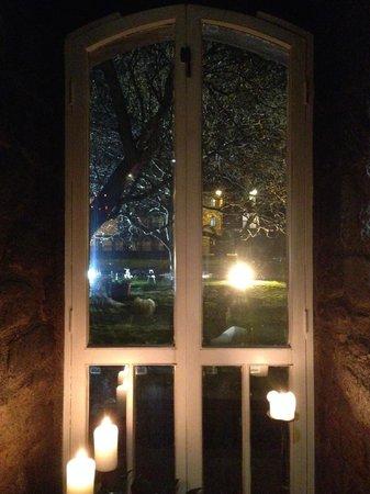 Blackfriars Restaurant : by the window