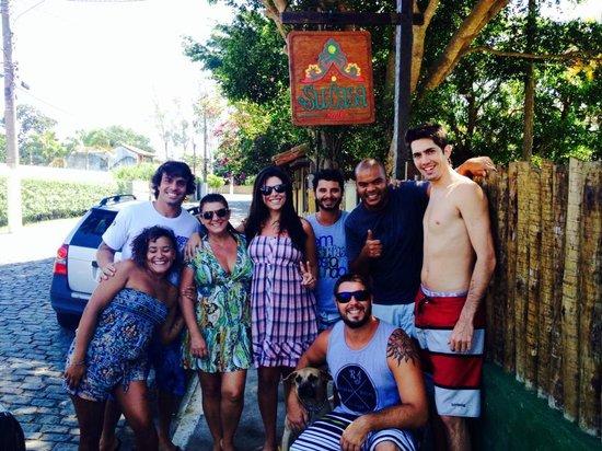 Buzios Beach Surf Hostel: Galera Su Casa!