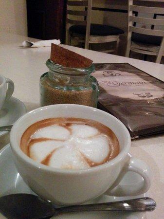 St Germain Bistro & Cafe : Cafe por Barista!