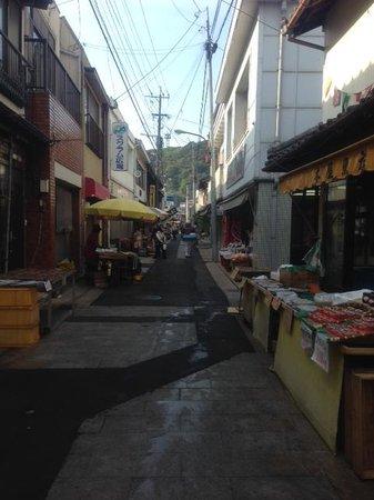 Yobuko Morning Market: 閑散と。。