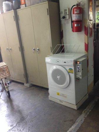 The Sukosol: コインランドリー乾燥機